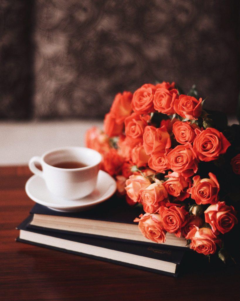 przy kawie