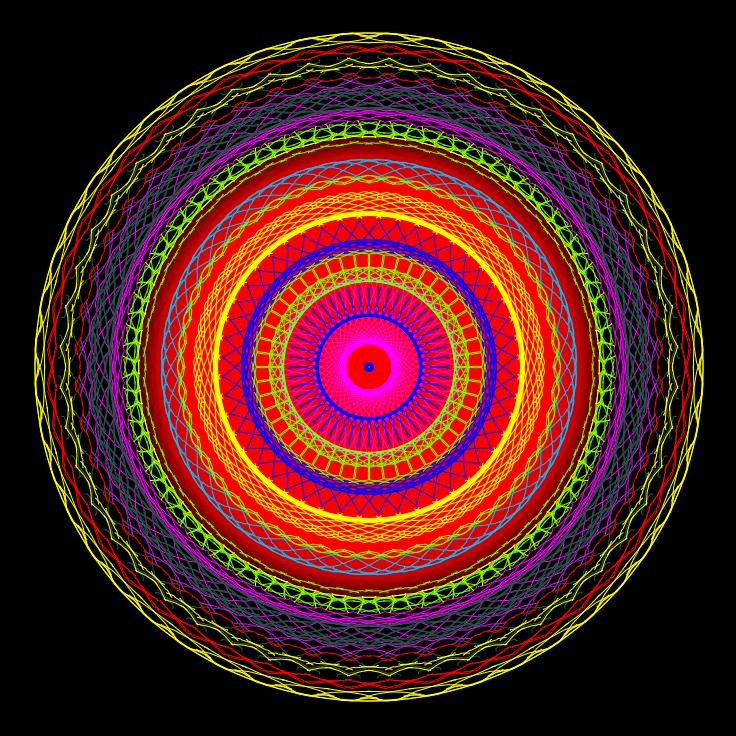 Mandala Nowiu Księżyca